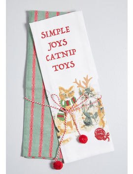 Simple Joys Catnip Toys Tea Towel Set by Modcloth