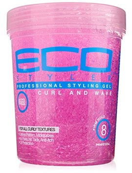 Ecoco Eco Style Gel, Pink, 32 Ounce by Ecoco
