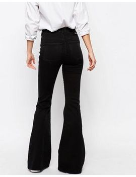 Dr Denim Brigitte High Waist Skinny Flare Jeans by Dr Denim