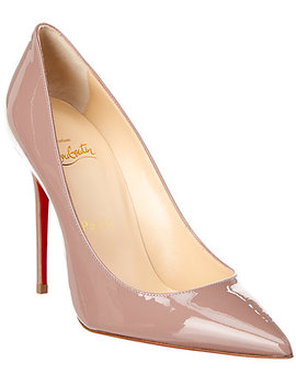 Christian Louboutin Decolette 554 100 Patent Pump by Christian Louboutin