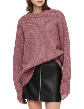 Gemini Metallic Knit Sweater by Allsaints