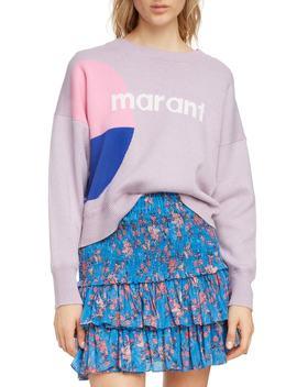 Isabel Marant Étoile Korbin Logo Sweater by Isabel Marant Etoile