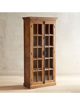 "Java 72"" Tall Cabinet by Cremone Collection"