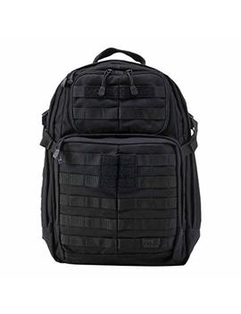 5.11 Rush24 Military Tactical Backpack, Molle Rucksack Bug Out Bag, Medium, Style 58601 by 5.11