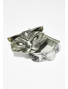Sacred Cat Trinket Box by Alchemy England
