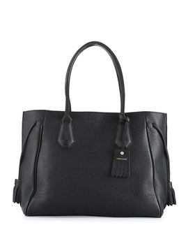 Penelope Large Leather Tote Bag by Longchamp