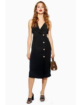 Button Midi Dress by Topshop