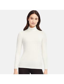 Damen Heattech Langarmshirt Mit Rollkragen by Uniqlo