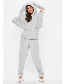 Grey Rabbit Twosie Set by Missguided