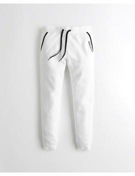 Pantalón Ajustado De Polar Tipo Jogging by Hollister