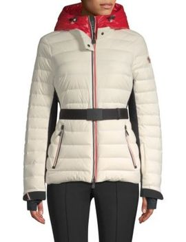 Bruche French Flag Puffer Ski Jacket by Moncler