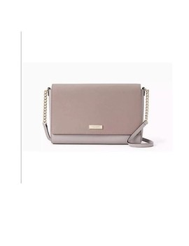 Tilden Place Alek Colorblock Nouveaux Neutral/Po Natural Leather Cross Body Bag by Kate Spade