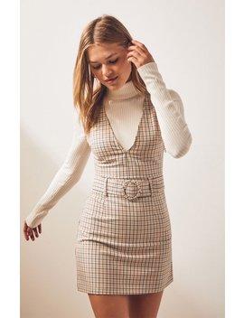 Lottie Moss Belted Dress by Pacsun