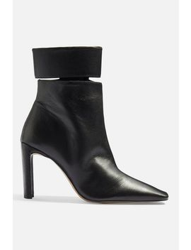 Hendrik Cuff High Ankle Boots by Topshop