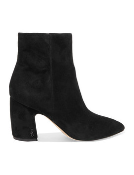 Hilty Suede Ankle Boots by Sam Edelman