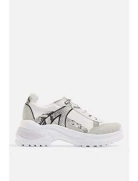 Chicago Bubble Trainers by Topshop