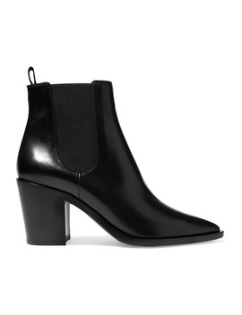 70 Chelsea Boots Aus Leder by Gianvito Rossi