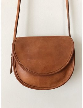 Vintage Coach Tan Leather Crossbody by Etsy