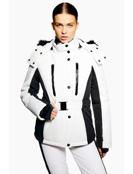 **Monochrome Colour Block Jacket By Topshop Sno by Topshop