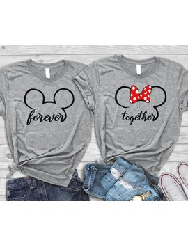 Disney Engagement Shirts, Disney Honeymoon Shirts, Disney Couple Shirts,Disney Anniversary, Disney Matching Shirts, Disney Adult Shirts by Etsy