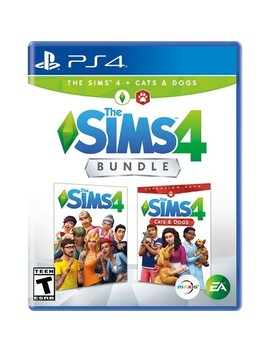 The Sims 4 Bundle: The Sims 4 With Cats & Dogs Expansion Pack   Play Station 4 by Play Station 4 (Ps4)