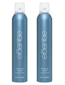 Aquage Finishing Spray Ultra Firm Hold 10 Oz Duo 2 Pack by Aquage