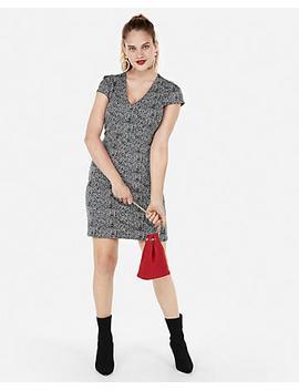 Seamed Sheath Dress by Express