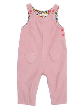 Fun Corduroy Overalls by Mini Boden