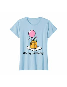 "Gudetama ""It's My Birthday"" Tee Shirt by Gudetama"