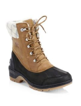 Whistler Wool Lined Winter Boots by Sorel