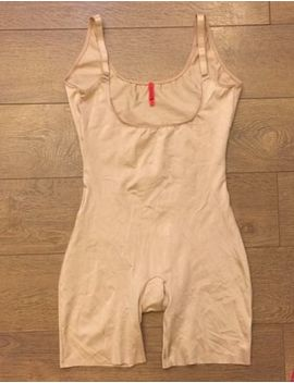 Spanx Slimplicity 991 Open Bust Bodysuit Nude Sz S Small Nwt by Spanx