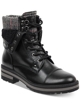Dyan Lace Up Winter Boots by Tommy Hilfiger