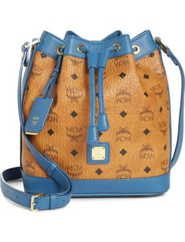 Small Visetos Drawstring Crossbody Bag by Mcm