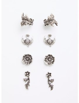 Outlander Earring And Cuff Set   Set Of 4 by Torrid