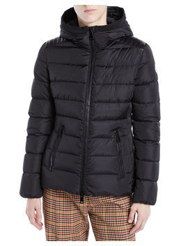 Tetras Channel Quilted Puffer Jacket by Moncler