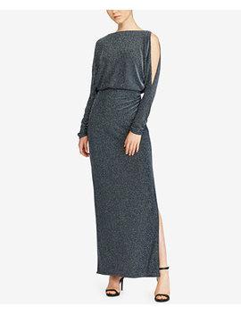 Metallic Chevron Gown by Lauren Ralph Lauren