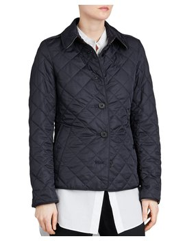 Frankby Quilted Jacket, Navy by Burberry