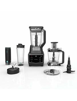 Ninja Smart Screen Blender And Food Processor With Fresh Vac Technology, 1400 Peak Watt Base, 9 Auto I Q Programs & Touchscreen Display (Ct672 V), Black by Ninja