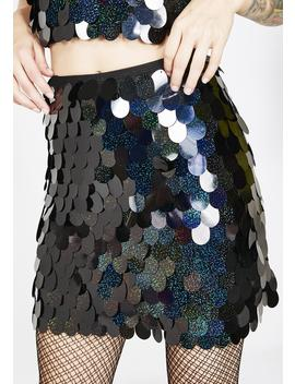 Galaxy Wyne Skirt by Motel