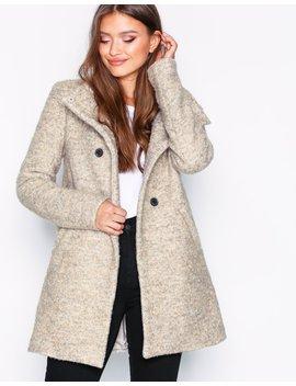 Onl Sophia Boucle Wool Coat Cc Otw by Only
