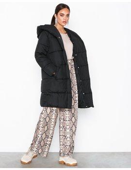 Longline Shawl Puffer Jacket by River Island