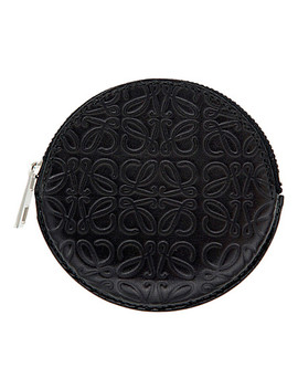 Cookie Embossed Leather Coin Purse by Loewe