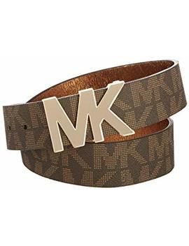 Michael Kors Signature Logo Wide Belt by Michael Kors