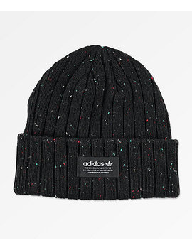 Adidas Originals Rib Black Beanie by Adidas