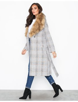 mongolian-fur-check-robe by river-island