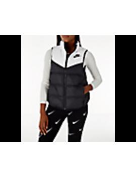 Women's Nike Sportswear Reversible Windrunner Down Vest by Nike