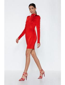 Mock And Roll Mini Dress by Nasty Gal
