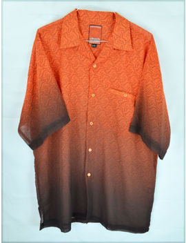 Men's Clench 701 Jeans   Orange / Black Logo Shirt   Size Xxl by Clench