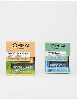 L'oreal Blackhead Rescue Skincare Kit Save 17 Percents by L'oreal