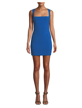 Josephine Sleeveless Square Neck Mini Dress by Likely